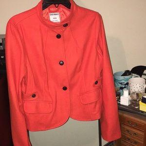 Old Navy Orange Blazer